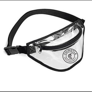 Chipotle Transparent fanny pack new✨